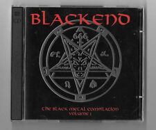 BLACKENED 3CD Lot The Black Metal Compilation Vol 1, 2, 3 Rare OOP 6 CDs Total