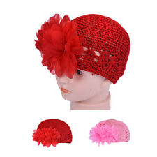Flower Toddlers Infant Baby Girl Lace Hair Band Headband Headwear Hat Crochet