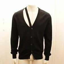 New Maison Martin Margiela Cotton Knit Cardigan Jumper With Window BNWT RRP £280