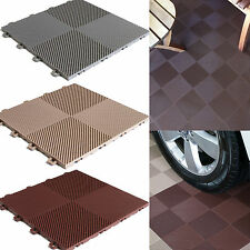 Garage Floor Tiles 30 Pack Patio Deck Flooring Interlocking Floating Perforated