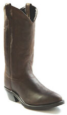 Old West Mens Distress Leather Narrow Round Toe 13in Cowboy Boots