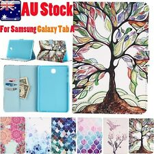 Stylish Leather Stand Case Cover For Samsung Galaxy Tab A 8.0inch SM-T350 T351
