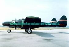 USAF  Northrop P-61C Black Widow Aircraft Color Photo Military P 61 Plane