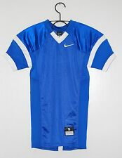 NWT Nike YOUTH Stock Open Field Royal Blue Mesh Practice Football Jersey