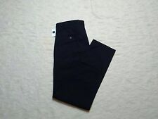 GAP KHAKIS PANTS MENS SLIM FIT SIZE 38X34 TRUE NAVY BLUE ZIP FLY NEW WITH TAGS