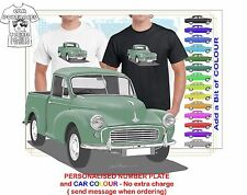 CLASSIC 52-56 MORRIS MINOR UTE ILLUSTRATED T-SHIRT MUSCLE RETRO CAR