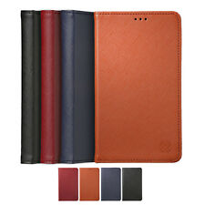Limit Genuine Cow Leather Card Wallet Diary Cover Case For Samsung Galaxy S7