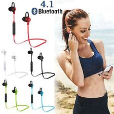 Bluetooth Sports Headphone in-ear Earphone Ear Buds with Mic Noise Isolating