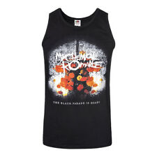 Official Vest MY CHEMICAL ROMANCE Black THE BLACK PARADE IS DEAD Tank All Sizes