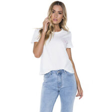 Mink Pink Homegirl T-Shirt in White