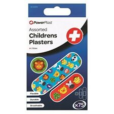75 x Animal Children's Plasters Assorted Sizes Various Animal Prints Colours. Be