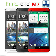 """4.7"""" Unlocked HTC ONE M7 Quad Core 32GB Android Mobile Phone Perfect Condition"""