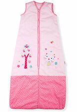 Baby Sleeping Bag, Pretty Kitty Garden, Kiddy Kaboosh Various Sizes & Weights