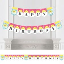 You Are My Sunshine - Birthday Party Bunting Banner - Happy Birthday. Brand New