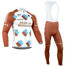Mens Bike Ropa Jersey Bib Kit Cycling Suit Maillot Brace Tights Bike Ride Wears