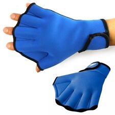 1 Pair Sphere Webbed Fingerless Swim Gloves Surfing Swimming Sports Paddle