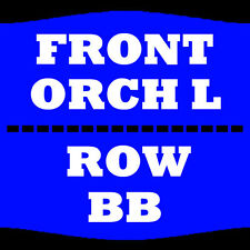 2 TIX JOE ROGAN 8/5 ORCH L ROW BB SAN DIEGO CIVIC THEATRE