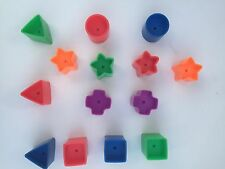 Fisher Price Brilliant Basics Baby's First Blocks Replacement Shapes U Pick One