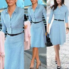Elegant Womens Career Bodycon Evening Party Wear to Work Office Business Dresses
