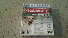 K9 Advantix II For Extra Large Dogs Over 55lbs. 4 Pack Flea and Tick