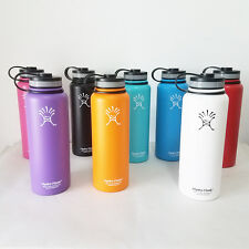 New 18oz/32oz/40oz Hydro Flask Insulated Stainless Steel Water Bottle Wide Mouth