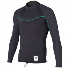 New MYSTIC 2016 MERINO WOOL L/S WETSUIT TOP 1.5MM BLACK
