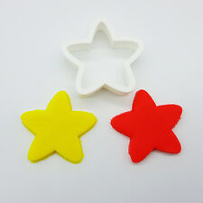 2pcs Chunky Star Cookie Cutter/Fondant, Biscuit Cutter / Fruit, Vegetable Cutter