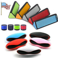 Portable Wireless Stereo Bluetooth Speaker FM TF MIC MP3 for Smartphone Tablet