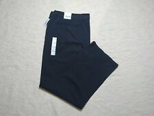 OLD NAVY BROKEN-IN LOOSE KHAKI PANTS MENS SIZE 44X32 GRAY COLOR ZIP FLY NEW NWT