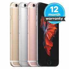 "Apple iPhone 6s- 16GB 64GB 128GB GSM ""Factory Unlocked"" Smartphone Various Color"