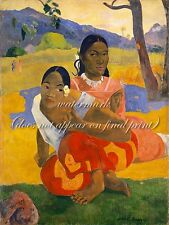 "PAUL GAUGUIN Painting Poster or Canvas Print ""When You Will Marry?"""