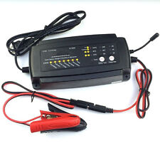 Pro 12V 2A/4A/8A Smart Car Moto Battery Charger 7-Stage Maintainer Charging A