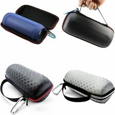 Travel Bag PU Leather Case Cover Skin Pouch for JBL Charge 2+ Bluetooth Speakers
