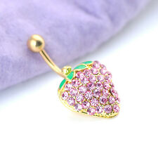 Piercing Rhinestones 1Pcs Belly Button Dangle Body 6 style Jewellery Navel  Ring