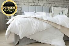 Quilt Goose Feather and Down Duvet Bedding Single Double King Superking 13.5 Tog