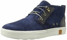 NIB Mens Timberland Amherst Chukka Suede Boot Navy A17EJ