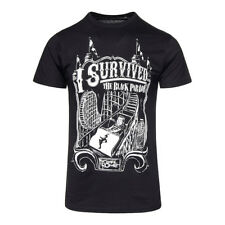 Official T Shirt MY CHEMICAL ROMANCE Black I SURVIVED Band Tee All Sizes