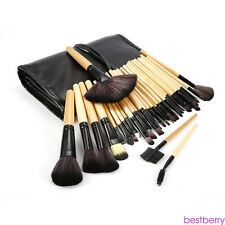 Professional 32pcs Soft Eyebrow Shadow Makeup Brush Set Kit + Pouch Bag HY10