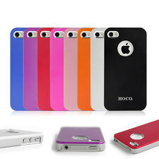 HOCO Luxury Lightweight Aluminium Hard Back Case Cover For Apple iPhone 4 4s
