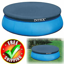 Round Pool Cover 8/10/12/15 Feet Swimming Above Ground Durable Protector New