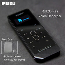 RUIZU K22 8GB Metal Audio Recorder Business Digital Voice MP3 Music Player