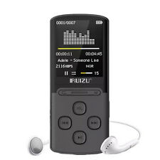 RUIZU X11 Mp3 Player 8GB Portable 64GB extend &FM Radio Voice Recording