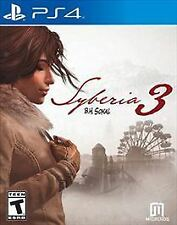 Syberia 3 - PlayStation 4 PS4 Standard Edition Free Shipping!