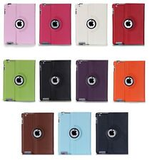 360 Luxury Rotating Magnetic Leather Stand Case For IPAD2 IPAD3 IPAD4 Case Cover