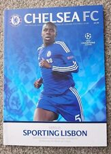 2014/15 CHELSEA HOME FOOTBALL PROGRAMMES CHOOSE FROM 2014 - 2015