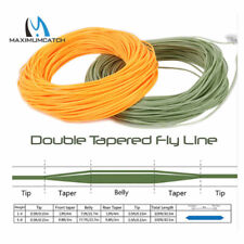 DT Fly Line Double Tapered Fly Fishing Line DT2F/3F/4F/5F/6F/7F/8F Floating 100'