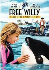 FREE WILLY ESCAPE FROM PIRATE'S COVE  (DVD, 2010)BNISW DAY U PAY IT SHIPS FREE