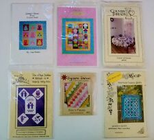 Quilt Patterns, Grannys Aprons, Cupcake, Circle of Geese, Homestead YOU CHOOSE