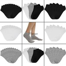Women Cotton Breathable Low Cut Socks No Show Casual Socks Pack of 6/12 WT88