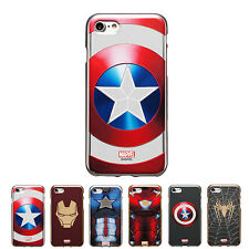 S2B MARVEL Metal Color Jelly Protect Slim Bumper Cover Case For Apple iPhone SE